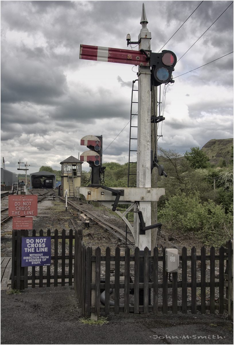 Embsay Signal Post